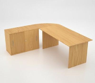 Lustrous desk