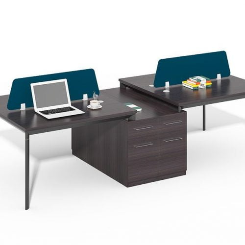 TWO-005 4 Person Office Staff Benching Desk