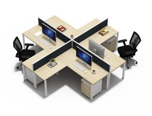 TWO-0010 Office Cubicles Tables Workstation Desk