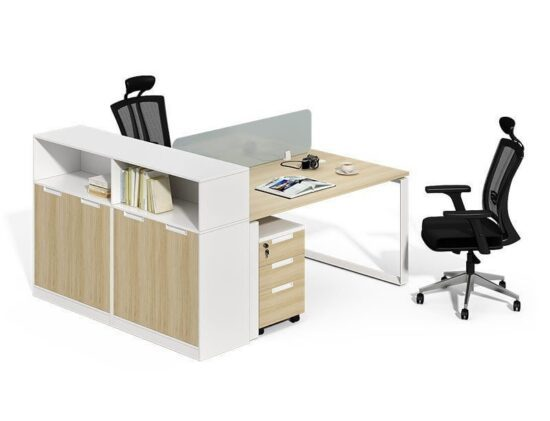 TWO-0019 Computer Desk With Bookshelf