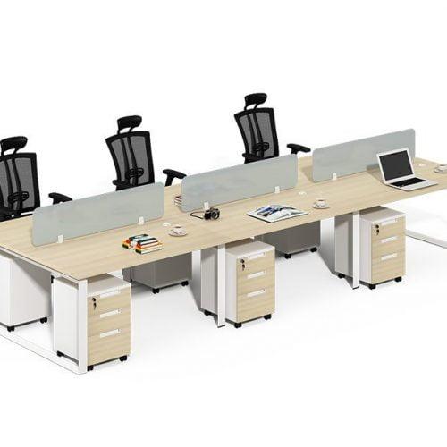 TWO-0020 Ergonomic Computer Desk Call Center