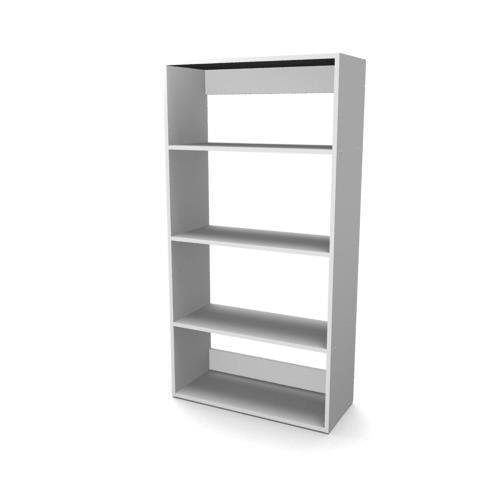 Econo Bookcase – 4 tier, open back TBO 0012