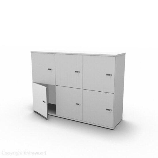 Evolution Locker 6-Door (1082) TBO 0021