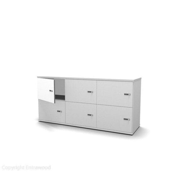 Evolution Locker 6-Door (722H) TBO 0023