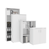 2 Tier Bookcase with Doors TBO 002