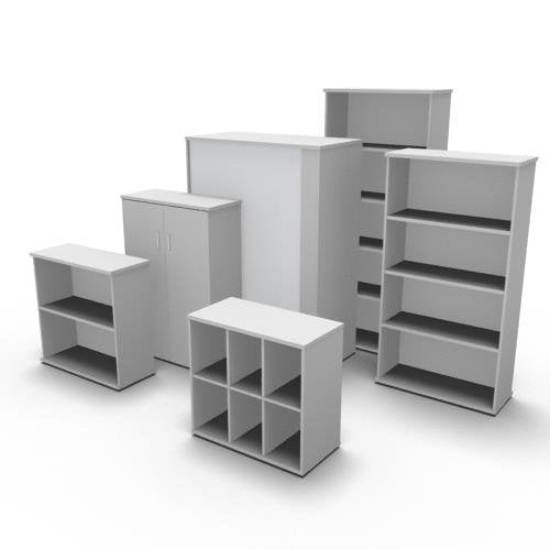 5 Tier Bookcase with Doors TBO 007