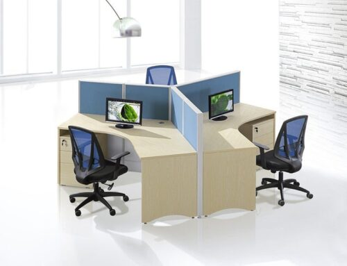 120 degree 3 seats workstation FHW 0010