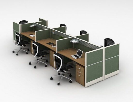 6 person workstation FHW 003