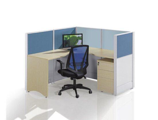 L shape workstation FHW 008