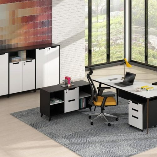 Computer workstation desk ST 007