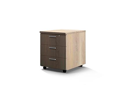 Mobile Pedestal – 3 Drawer 0016