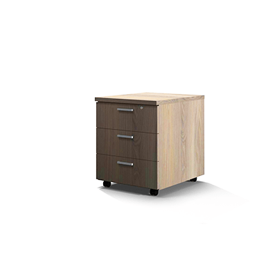 Mobile Pedestal – 3 Drawer 0016