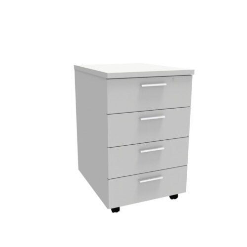 Mobile Pedestal – 4 Drawer 0017