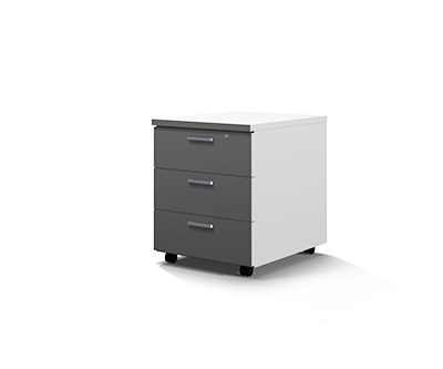 Mobile Pedestal – Econo 3 Drawer 0018