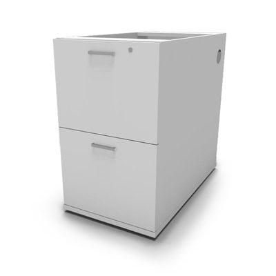 Multi-storage pedestal 2-filer 0021