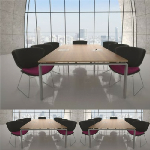 Rectangular Boardroom Table
