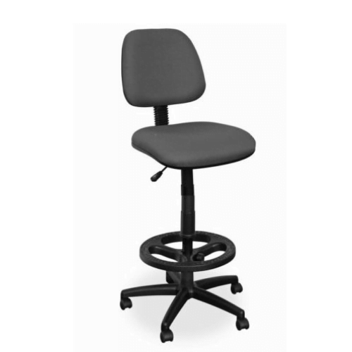 001 Luna Draughtsman Chair – Chrome Footring