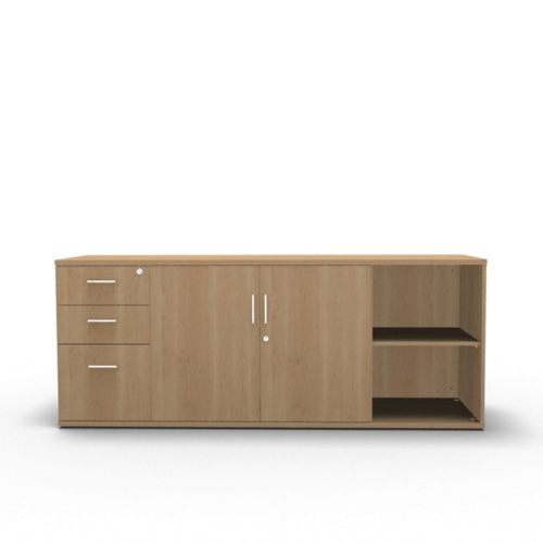 Side storage – desk height TBO 0039