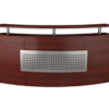 W001 Curved Reception Desk