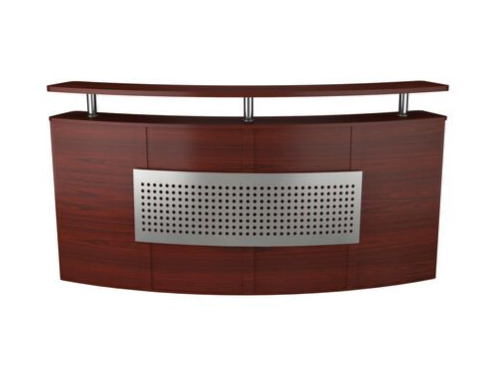 W001 Curved Reception Desk
