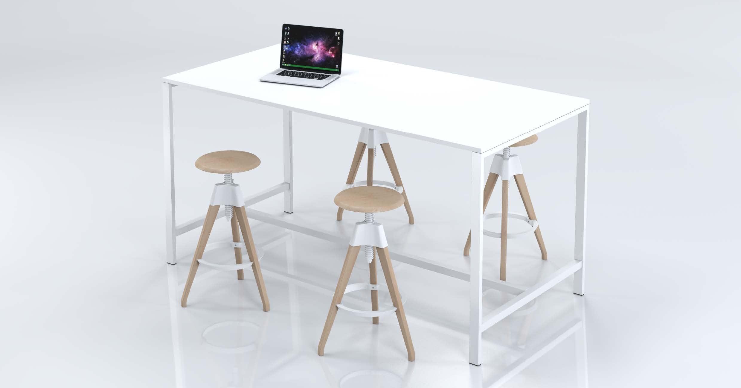 Twentyfive50 standing meeting table