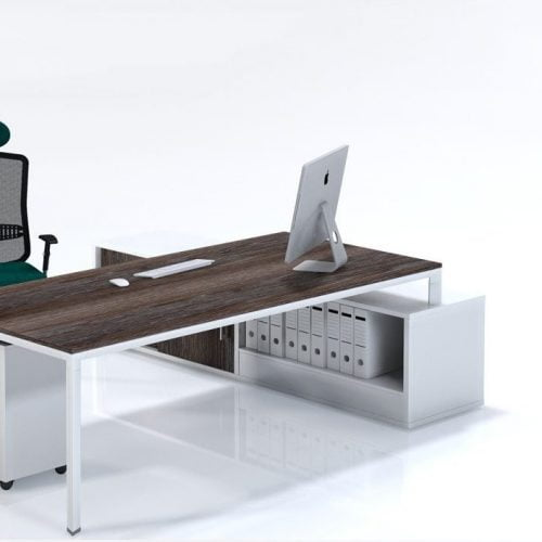 Trileg managerial workstation