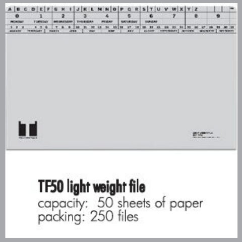 TF50 light weight file