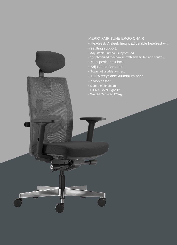 Merryfair Tune Ergo Chair