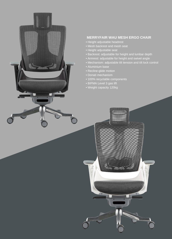 Merryfair Wau Mesh  Ergonomic Chair