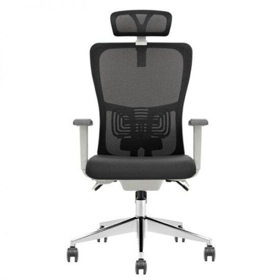 Sohum Managerial Plus Grey Mesh High Back Chair