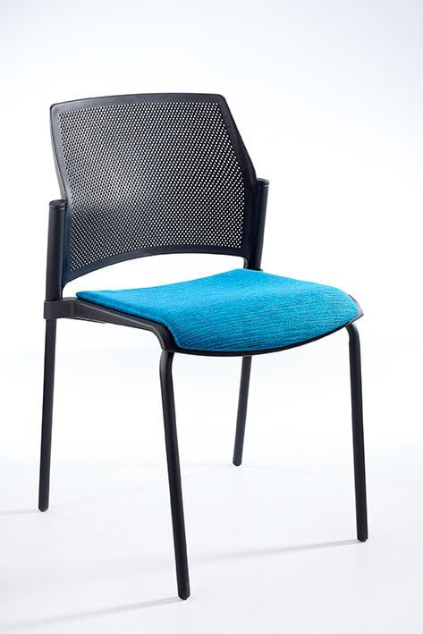 Flick Side Chair Upholstered